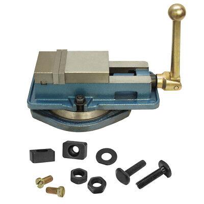 3 Accu Lock Precision Vise W Swivel Base Milling Drilling Machine Bench Clamp