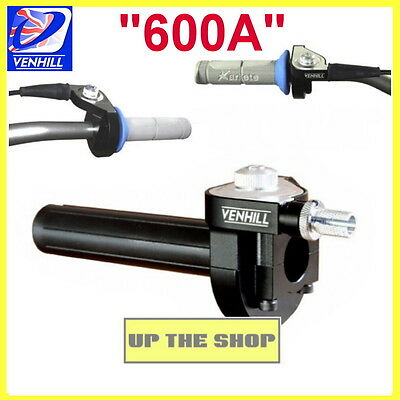 Venhill 600A quick fast action throttle, twist grip, Speedway, track & road