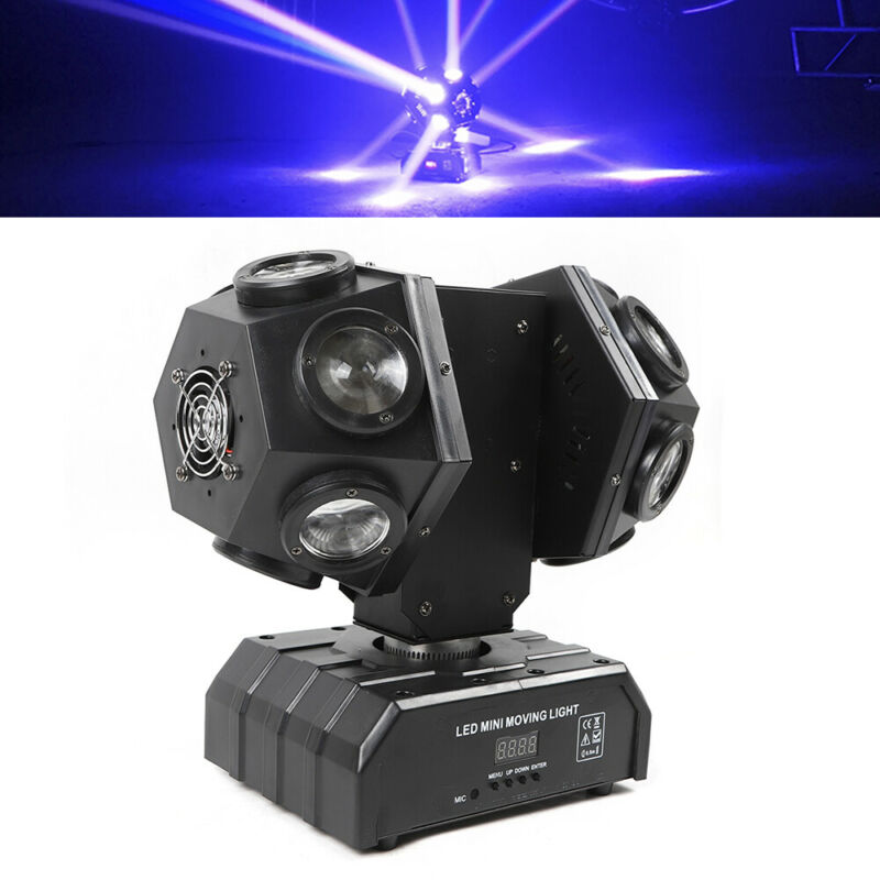 Professional LED Stage Light Party Disco Club Light Sound Activated DMX512 RGBW