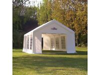 Gala tents 4x6m pvc marquee with carpets