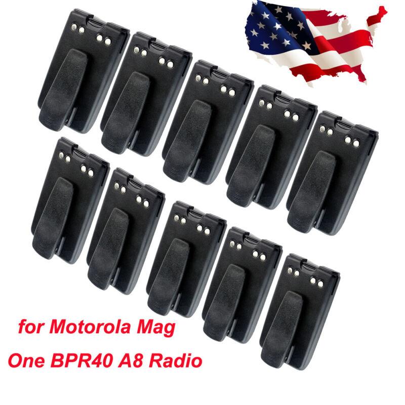 Motorola Ni-MH Battery 1500mAh +Belt Clip for Mag One BPR40 A8 Two Way Radio X10