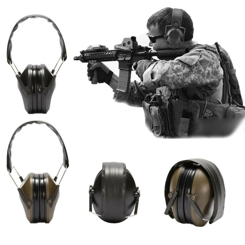 Noise Canceling Electronic Ear Muffs Protection Shooting Hun