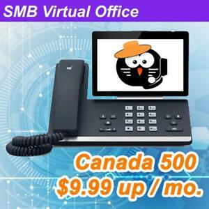 Hosted PBX Business Phone System With Collaboration (Minute/Monthly Plan Available)