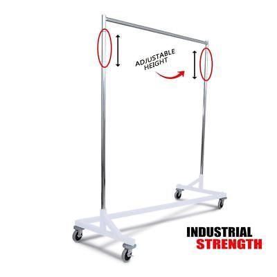 Only Hangers Industrial Strength Z Rack -white