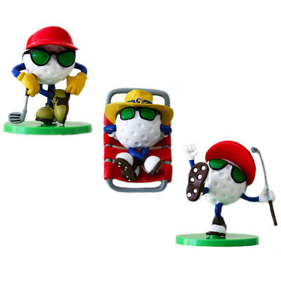 Be The Ball 3-Ornaments Gift Set Holiday Golf Ball Ornament And Figurine