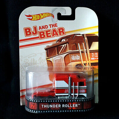 Hot Wheels Retro Thunder Roller BJ And The Bear - with Blister Protector