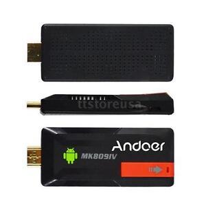 MK809IV Android 4.4 TV Dongle Stick Mini PC Quad Core 2G/16G WiFi HDMI