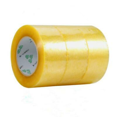 100 Roll Clear 2 Mil Carton Sealing Shipping Box Packing Tape 2 in x 130 Yards