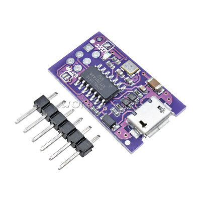 Micro Usb Tiny Avr Isp 5v Attiny44 Usbtinyisp Programmer For Arduino Bootloader