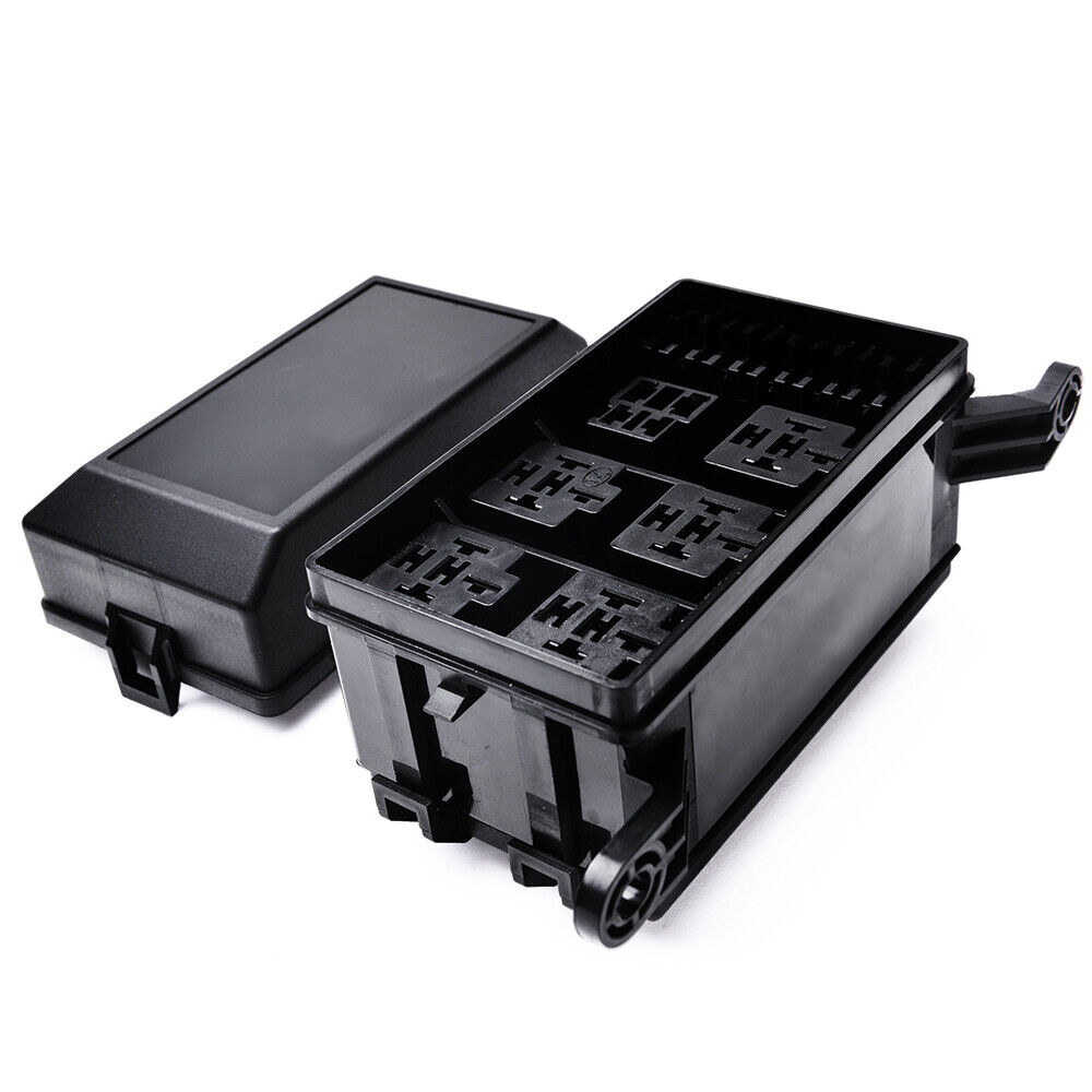 Wiring Fuse Box Automotive : Automotive car fuse relay holder slot box