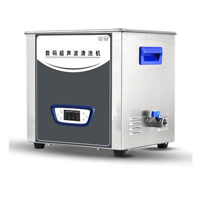 Ultrasonic Cleaner 10L Tank Cleaning Machine Digital LCD 240W TUC-100 VEP