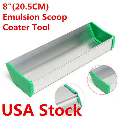 Usa Stock New 8 Dual Edge Emulsion Scoop Coater For Screen Printing