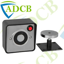24V Door Hold Magnetic Retainer Release Button Wall Mount 45kg Holding Force