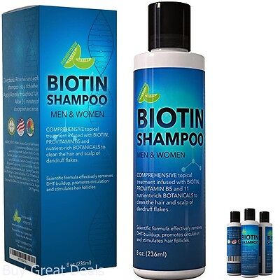 New Best Seller Biotin Shampoo For Hair Growth B Complex Formula For Hair