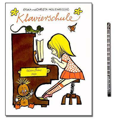 Erika Holzweißig Klavierschule - Verlag: C.F. Peters - EP9480 - 9790014076900