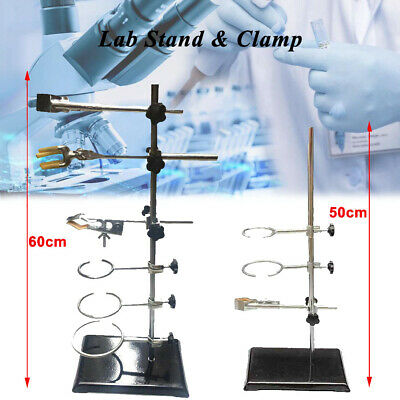 Laboratory Stand Support For Retort Holder Clamp Flask Condenser Lab 60cm50cm