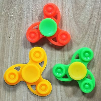 48*48mm Plastic Tri Fidget Hand Spinner Pocket Toy EDC Develop Focus Relaxed Toy