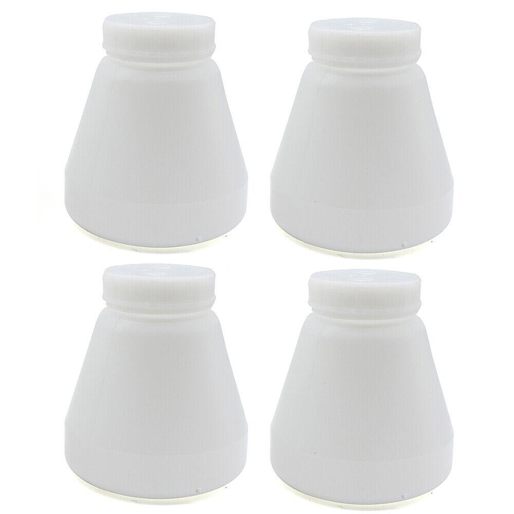 8pieces hopper cup Bottle for powder coating system PC02 PC03 paint spray gun