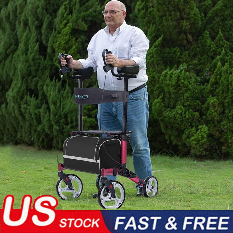 OEM ELENKER WALKER Upright Rollator Walker Upgrade Stand Up Walking Medical Aid