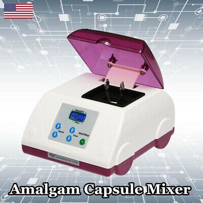 Amalgamator Dental Digital High Speed Mixer Hl-ah Amalgam Capsule G8 Amalgamator