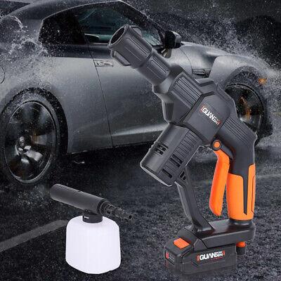 Rechargeable Pressure Washer Spray Gun Lance Wash Water Gun for Car,3.0L/Min Max