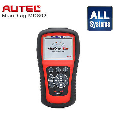 Autel MaxiDiag Elite MD802 Alle Systeme Diagnosegerät OBD1 OBD2 Lifetime Updates ()