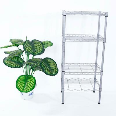 Storage Rack 4 Layer Organizer Kitchen Shelving Steel Wire Shelves