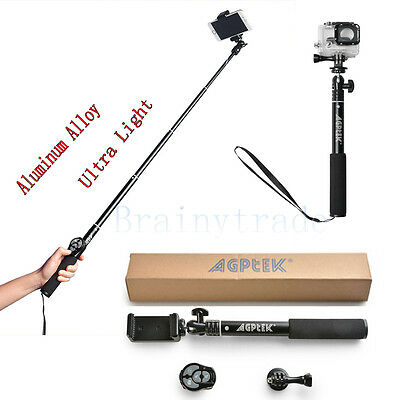 Extendable Selfie Stick Monopod with Bluetooth Remote Shutter For Phone...
