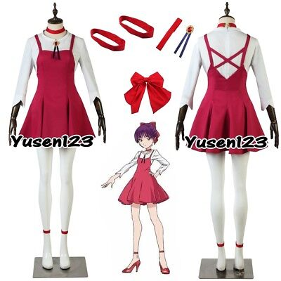 GeGeGe no Kitaro Nekomusume Cat Girl Cosplay Costume Halloween Dress Customized - Catgirl Costumes
