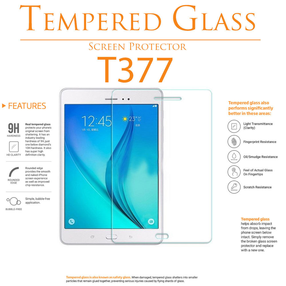 """Tempered Glass LCD Screen Protector For Samsung Galaxy Tab E 8"""" 9.6"""" T377 T560"""