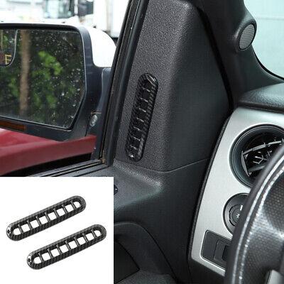 2x Side Door Air Vent Outlet Frame Decor Cover Trim Bezel For Ford F150 2009-14