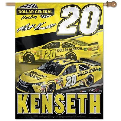 407a48ab1e752 Matt Kenseth Wincraft Vertical Flag Banner 27in x 37in  20