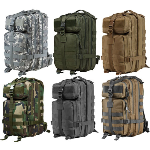 VISM Small Tactical MOLLE Airsoft Camping Utility Backpack by NcSTAR 2949