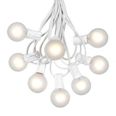 G30 Outdoor Backyard Patio Globe Bulbs String Lights 32 Foot Christmas Fast Ship