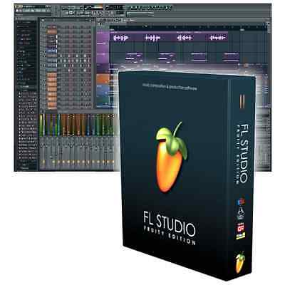New Image Line Fl Studio 12 Fruity Loops Pc Daw Free Updates For Life   Boxed