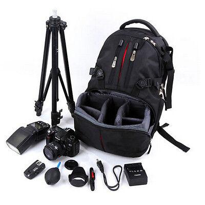 Waterproof Camera Backpack Padded Bag Case for DSLR SLR Digital Canon Nikon Sony