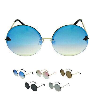 Fashion Sale Oversized Hippie Fashion Retro Large Round Lennon Ladies sunglasses