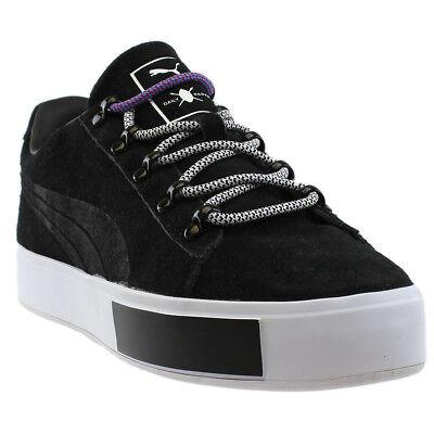 Puma Daily Paper Court Platform Sneakers - Black - Mens