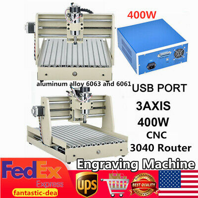 Usb 3 Axis 3040 Cnc Router Engraver Wood Pcb Engraving Drilling Milling Machine