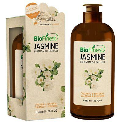 Biofinest Jasmine Essential Oil Shower Gel - Premium Grade -