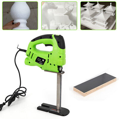 Pro Electric Foam Cutter Sponge Cutting Machine Tool 200mm Saw Blade 110v Usa
