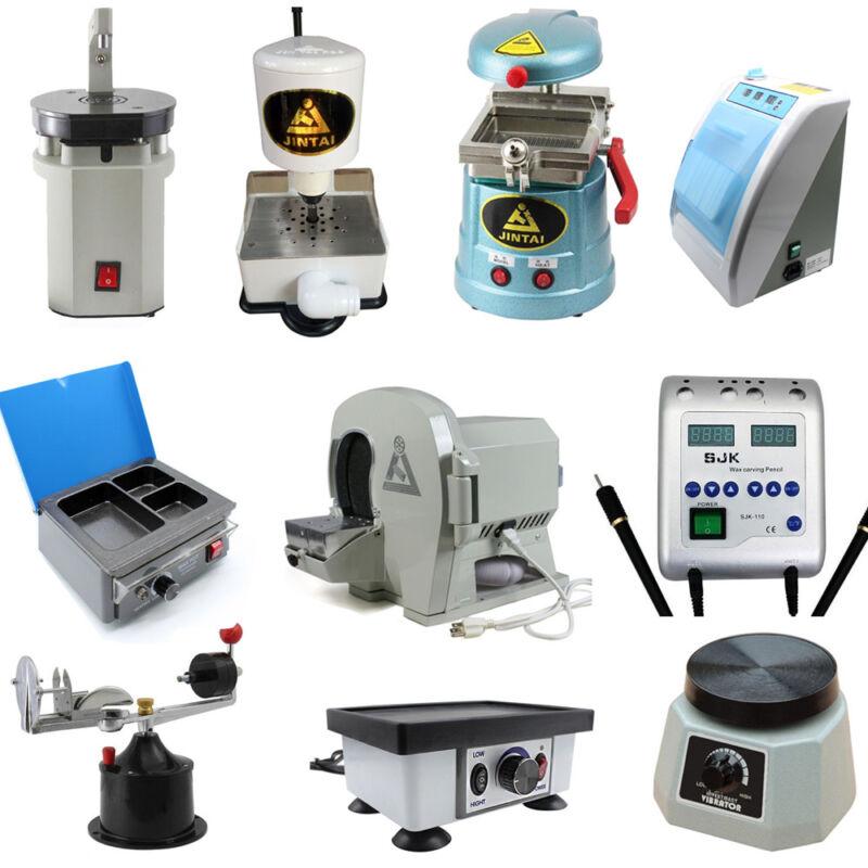 Dental Wet Model Trimmer,Vacuum Former,Wax Heater Vibrator,Centrifugal Unit 110V