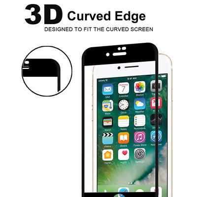 For iPhone 7 &7 Plus Carbon Fiber 3D Full Tempered Glass Screen Protector