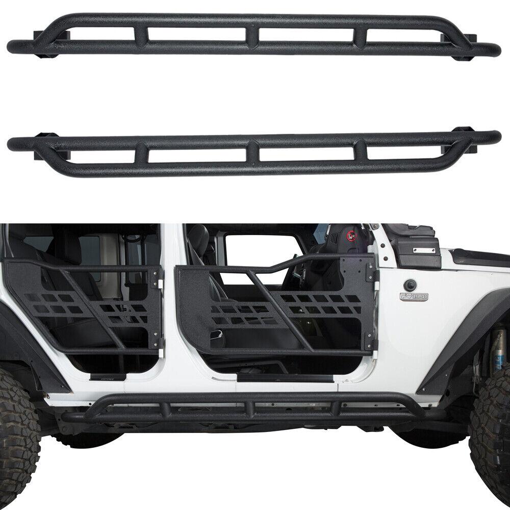Rock Guards Side Steps Nerf Bar For 2007-2018 Jeep