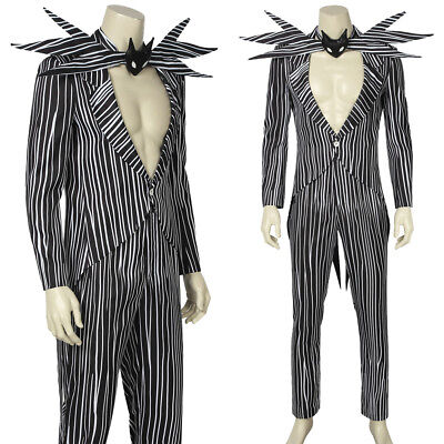 The Nightmare Before Christmas Jack Skellington Cosplay Costume Fancy - Jack Skellington Cosplay