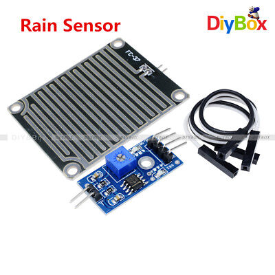 Rain Weather Module Raindrops Detection Sensor Moduel Humidity For Arduino Top