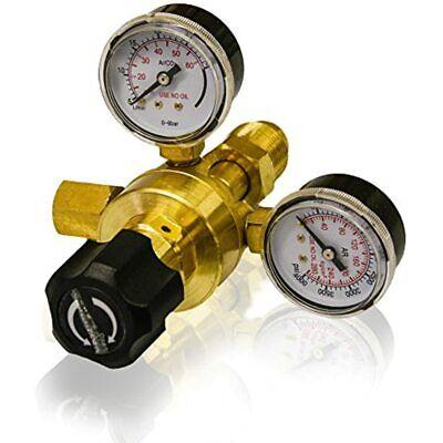 Lotos Argon Co2 Flow Meter Welding Welder Regulator Gauge Gas For Mig140 Mig175
