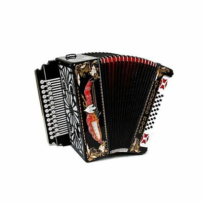 New diatonic button accordion- Russian Garmon. Kulikovo Pole (Kulikovo field),