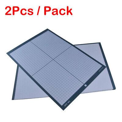 2pcs Packed A3 Cutting Mat Self Healing With Craft Sticky Vinyl Cutter Plotter