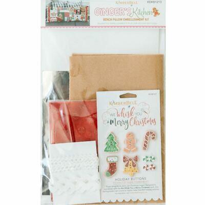 Ginger's Kitchen Bench Pillow Embellishment Kit by Kimberbell Designs (KDKB1213)